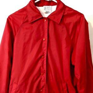 a0ee48ca6 Vintage SEARS Women's Coaches Jacket Windbreaker L